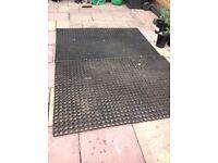 Industrial Grade Rubber Matting £20