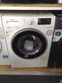 Blomberg white 8kg washing machine. £250 RRP £349. New/graded 12 month Gtee