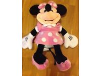 Large soft toy Mini Mouse