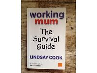 Working mum:the survival guide book 50p HAROLD HILL