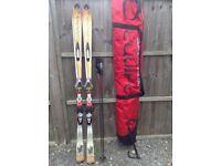Dynastar SX skis, Salomon bindings & poles