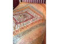 Throw, wall-hanging or bedspread