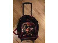 Children's Pirates of the Caribbean Rolling Case / Backpack