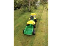 Kids tractor - By Rolly Toys - John Deere - Mint Condition