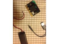BBC MICROBIT AND COMPONENTS (unused) £15