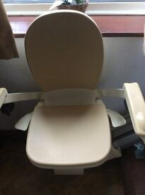 Brooks 14 step left handed Stair lift