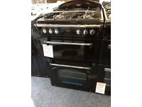 Black leisure gourmet gas cooker new /graded 12 months gtee RRP £549