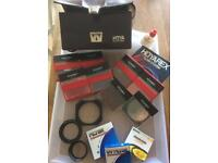 Camera accessories - Selection of Filters and Lenses