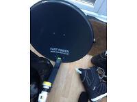 Fast Finder Portable Satellite Kit