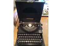 Vintage Imperial Good Companion Typewriter