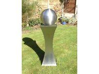 Stainless Steel Garden Ornament 1.2m