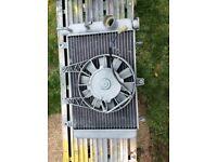 Triumph radiator