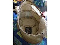 Mamas and papas pop up travel bassinet Moses basket cot