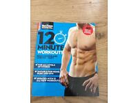 Men's fitness workout book
