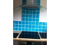 Turquoise Ceramic tiles hand made