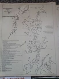 Marine charts by CCC all 50 sketch charts