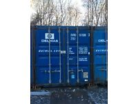 20 ft containers for rent £25pw
