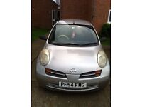 1.2ltrs nissan micra,automatic,petrol, 89000miles, MOT Jan 2018, clean, driven by a lady.