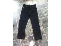 Black Aztec Jeans - New still tagged