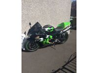 Kawasaki ZX10 R .... MSS racing colours