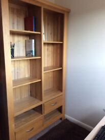 Furniture: x 2 bookcases, 1 coffee table, 1 CD case, 1 dressing table