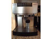 Nespresso krups automatic coffee machine