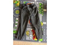 Marks & Spencer's Grey school trousers Aged 3-4 with adjustable waist