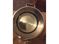 Nice big large stainless steel cooking pot +11L