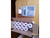 paper roll calculator adding machine