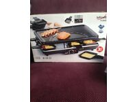 Raclette Grill Bifinett H-3043 indoor grill Brand new