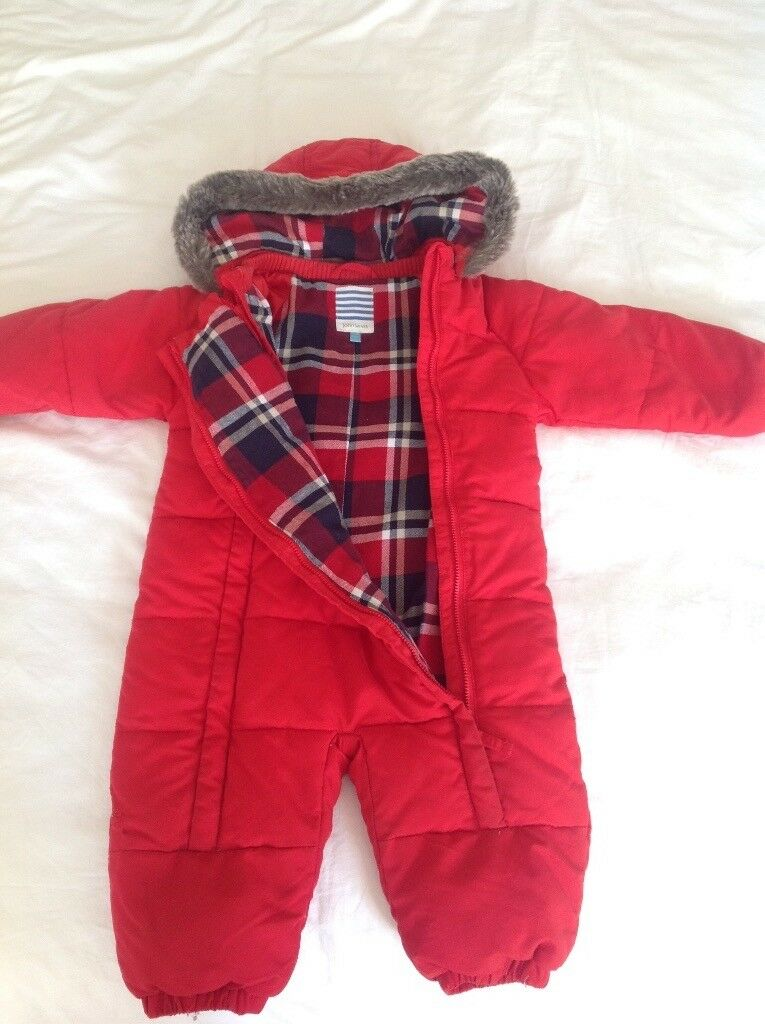 9809243f299a John Lewis snow suit excellent condition 12-18 months