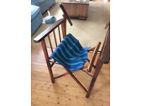 Vintage Directors chair half made!