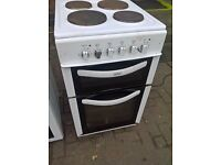 white electric cooker 50cm.....free delivery
