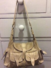 Leather hand shoulder bag nice bag