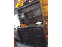 Vintage oak Welsh dresser