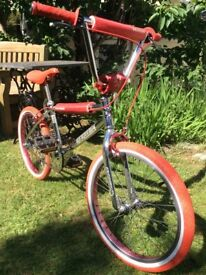 Old school BMX bike Peugeot 351