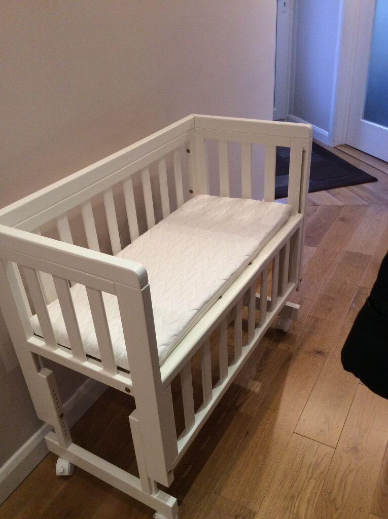 John Lewis Troll Bedside Crib Co Sleeper In Brighton