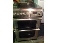 Canon stainless steel gas duel fuel cooker