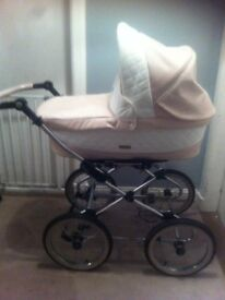 Baby style leather pram ... Excellent condition selling as had another child need gone ASAP