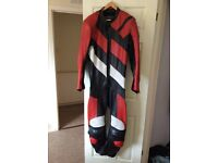 Kett one piece racing suit. Full body armour.