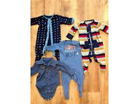 Newborn baby boy bundle 0-3 months