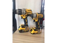 Dewalt dcd996 and DeWalt 18 Volt DCF886 Compact Brushless Impact Driver no charger good condition