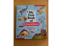 My First Book of Questions - Easy Answers to Hard Questions Children Ask