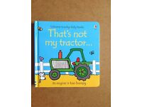 Usbourne childrens book That's not my tractor