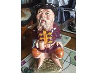 Melba ware Toby jug The Tale Teller 8 inches tall in immaculate condition £10