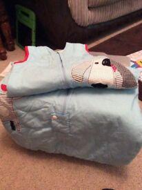 Boys Baby Sleeping Bag by Grobag Company 6-18months 2.5 Tog