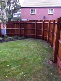T.Gardner Fencing . All types of fencing and gates call for a free quote .07816224771 - 01858410828