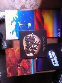 Vinyl LPs approx 80
