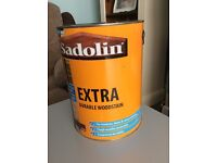 Sadolin wood stain - unopened