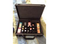 Aromatherapy oils and carry case